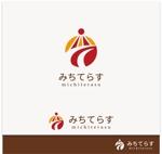 kR-designさんの経理労務法務コンサル会社 みちてらす のロゴ作成への提案