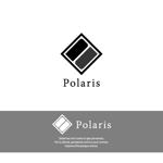 komorebi-lcさんの建築会社「Polaris」のロゴへの提案