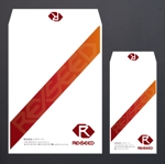 morris_designさんの会社の封筒2種類のデザインへの提案