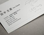 kawazomeさんのルサンククリニック名刺への提案