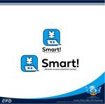 医科専用自立型自動会計精算機『Smart!』の製品ロゴへの提案