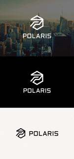 tanaka10さんの建築会社「Polaris」のロゴへの提案