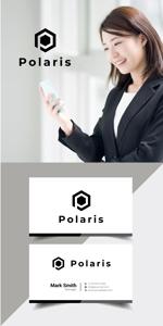 Nyankichi_comさんの建築会社「Polaris」のロゴへの提案
