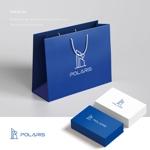 doremidesignさんの建築会社「Polaris」のロゴへの提案