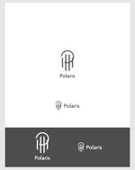 haru8mさんの建築会社「Polaris」のロゴへの提案
