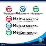広告イベント会社「Mei Corporation」の企業ロゴへの提案