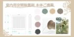 室内用 空間除菌剤 (吊下げるタイプ)本体のデザインへの提案