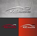gcrepさんのモータースポーツでカーレースチーム「KCracing」のロゴへの提案