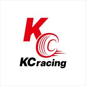 I-I_yasuharaさんのモータースポーツでカーレースチーム「KCracing」のロゴへの提案