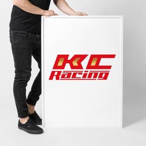 ronsunnさんのモータースポーツでカーレースチーム「KCracing」のロゴへの提案