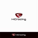 Doing1248さんのモータースポーツでカーレースチーム「KCracing」のロゴへの提案