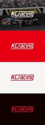 tanaka10さんのモータースポーツでカーレースチーム「KCracing」のロゴへの提案