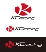dd51さんのモータースポーツでカーレースチーム「KCracing」のロゴへの提案