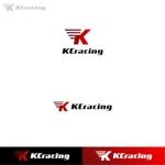 Puchi2さんのモータースポーツでカーレースチーム「KCracing」のロゴへの提案