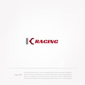 mg_webさんのモータースポーツでカーレースチーム「KCracing」のロゴへの提案