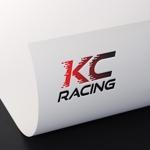 tsukasa110さんのモータースポーツでカーレースチーム「KCracing」のロゴへの提案