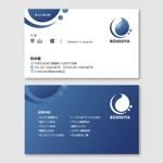 toshimoriさんの建築業 防水屋 の名刺デザインへの提案