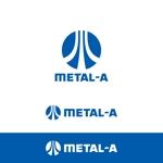 金属工事取り付け METAL-Aのロゴへの提案