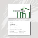 s_kuraさんの不動産会社 「株式会社彩京不動産」の名刺デザインへの提案