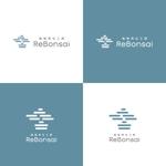 盆栽リユースサロン「植物再生工房ReBonsai」のロゴへの提案