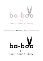 hana662さんの美容室『ba-boo by beauty:beast  Academy』ロゴ作成     への提案