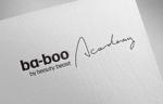 OhnishiGraphicさんの美容室『ba-boo by beauty:beast  Academy』ロゴ作成     への提案