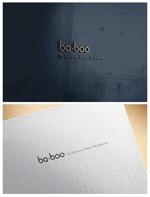 ainoginさんの美容室『ba-boo by beauty:beast  Academy』ロゴ作成     への提案