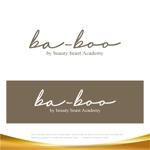 drkigawaさんの美容室『ba-boo by beauty:beast  Academy』ロゴ作成     への提案