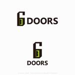 アウトドア感溢れる住宅のロゴ(6DOORS)への提案