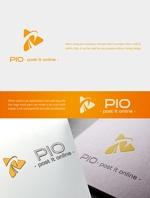 新サービス「PIO(ピオ) - post it online -」のロゴ、アイコン制作への提案