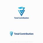 個人で法人コンサルをおこなう「Total Contribution」のロゴへの提案
