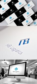katsu31さんの物流・輸送会社「MB」のロゴへの提案