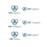 calimboさんの物流・輸送会社「MB」のロゴへの提案
