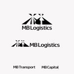 ryokuenさんの物流・輸送会社「MB」のロゴへの提案