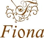 beecomさんの「Fiona」のロゴ作成への提案