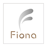 z-yanagiyaさんの「Fiona」のロゴ作成への提案