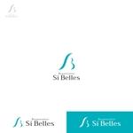 utamaruさんのエステサロンSi Bellesのロゴへの提案