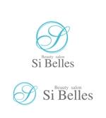 perles_de_verreさんのエステサロンSi Bellesのロゴへの提案