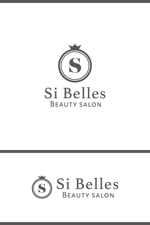 anpan_1221さんのエステサロンSi Bellesのロゴへの提案