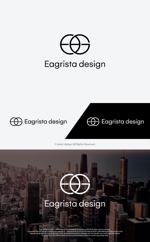 take5-designさんの不動産・リノベーションの会社「Eagrista design」のロゴへの提案