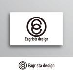 White-designさんの不動産・リノベーションの会社「Eagrista design」のロゴへの提案