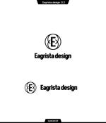 queuecatさんの不動産・リノベーションの会社「Eagrista design」のロゴへの提案