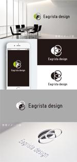 smoke-smokeさんの不動産・リノベーションの会社「Eagrista design」のロゴへの提案