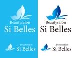 coresoulさんのエステサロンSi Bellesのロゴへの提案