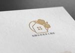 late_designさんの有限会社花本工務店のロゴ製作への提案