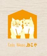 猫カフェ「Cats House ねこや」のロゴへの提案
