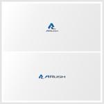 WEB広告会社の社名「A Rush」のロゴへの提案