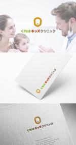 skliberoさんの小児科医院「くれはキッズクリニック」のロゴへの提案