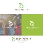 Puchi2さんの小児科医院「くれはキッズクリニック」のロゴへの提案