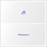 新サービス「ビジネスマイル」のロゴ制作への提案